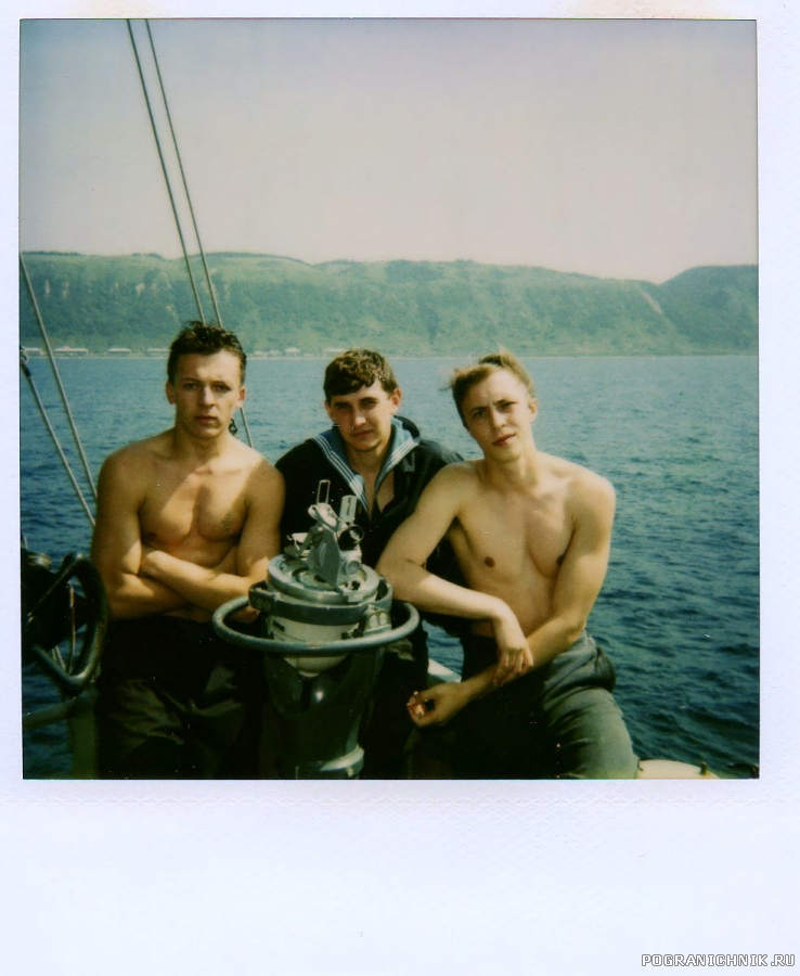 ПСКР-692 Фото с архива Н.Березина. Он справа