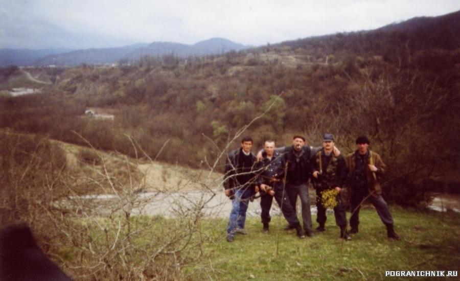 Весна 2002 года. Чечня.Район Дуба-Юрта