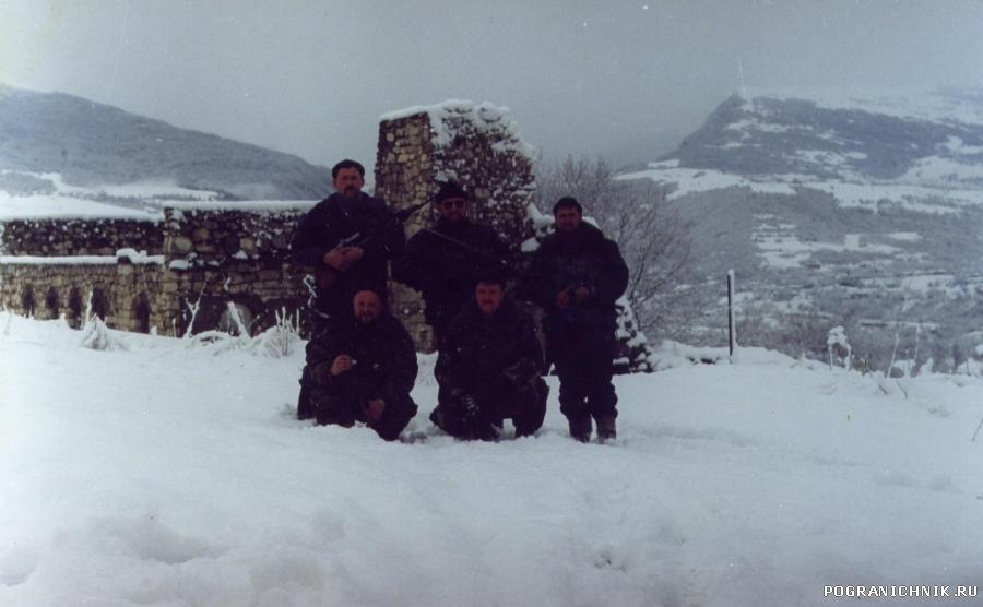Зима 2002 года. Чечня, район 1-го Блок поста