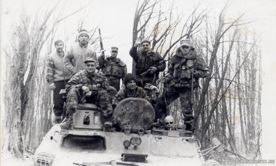 2002 год , Чечня, район Шатоя, выезд на зачистку