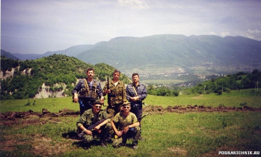 Чечня 2000 года. Село Борзой