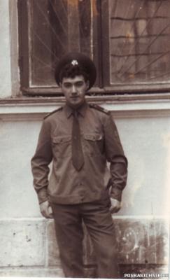 снова я -28 мая 1988)))дембель