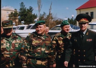 Командир отряда и глава Службы