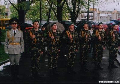 9 мая 2006 года. Киев. Салютная группа