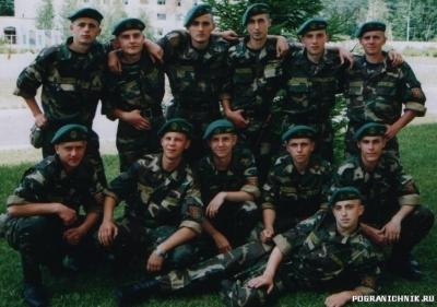 1-й взвод, 1-й роты 1-го учебного батальона Первого Погранич