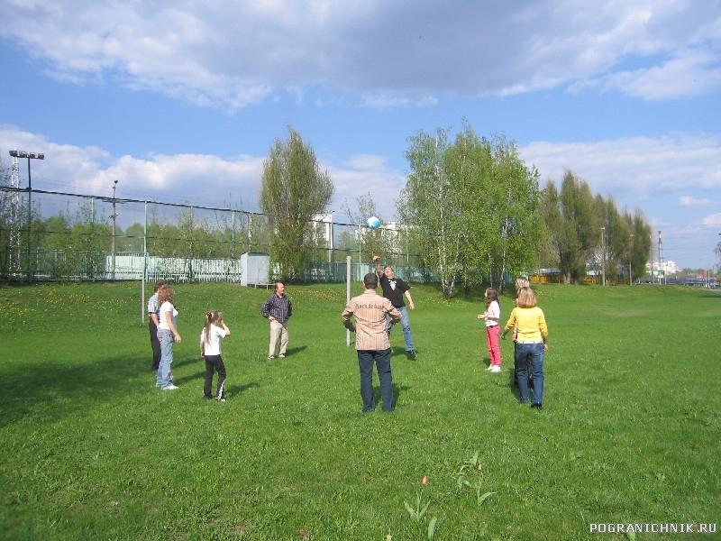 9 Мая. Волейбол в Чертаново
