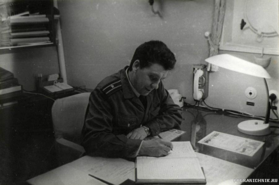 Капитан 3-го ранга Семенов В.А.