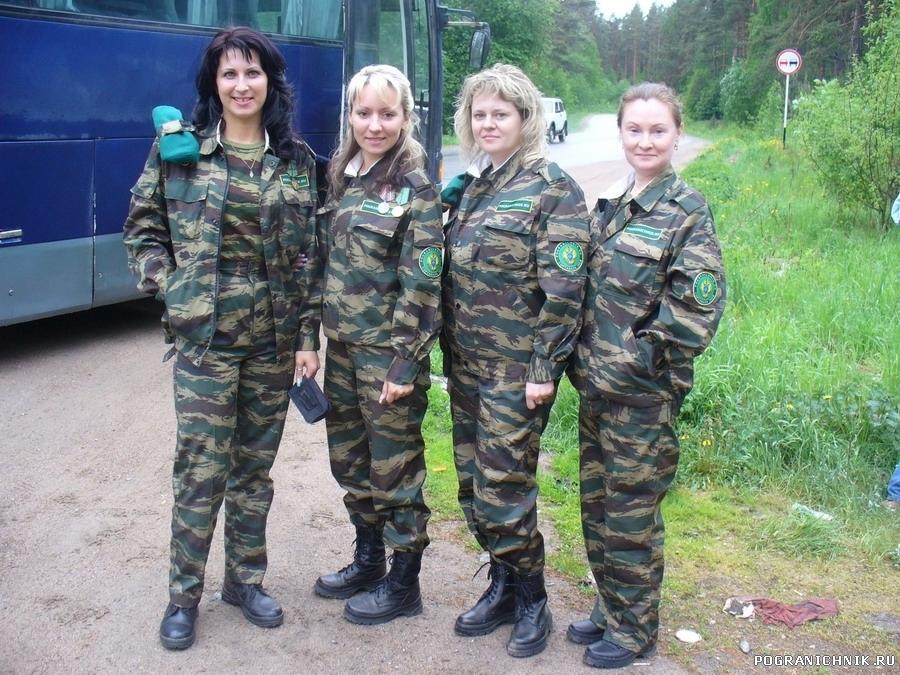 Девушки-пограничницы