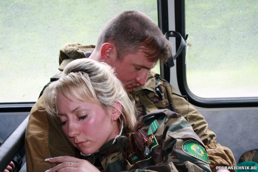 Сморила нешуточная усталость))