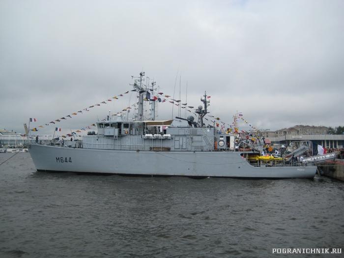 Международный морской салон в С-Петербурге. 2009 г.