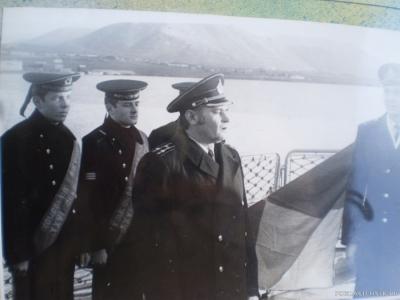 Мой первый командир корабля Стариков
