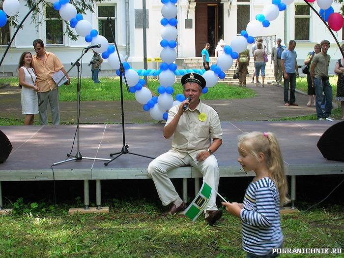 Андрей нам ещё и спел!