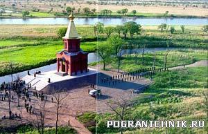 Храм св . мученика воина Виктора . о Б. Уссурийский.