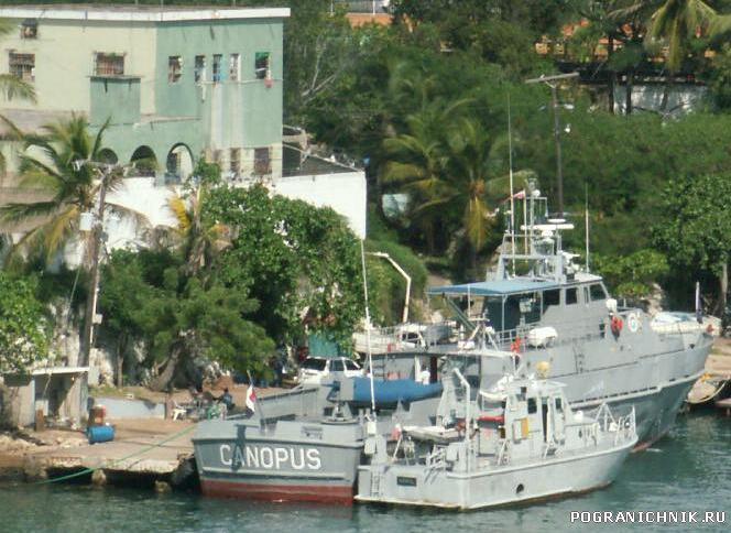 Доминиканские полицейские катера