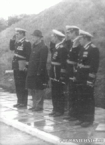 Казакевичево-Командование бригады-9 мая