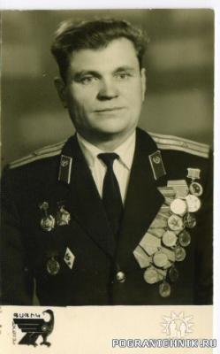 Ветеран ВОВ и В.Ч.2012-майор Северин Василий Александрович.