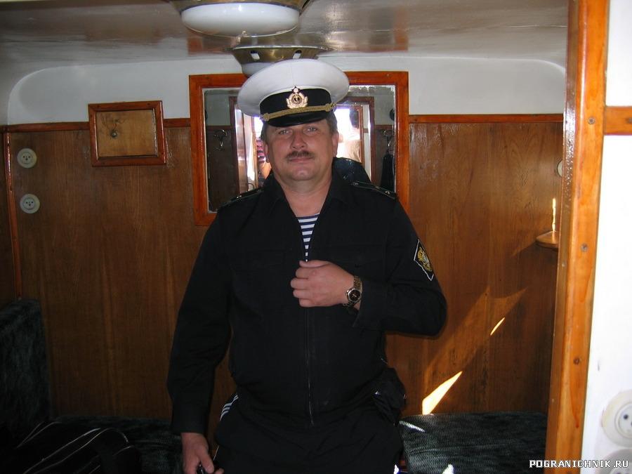 На крейсерском катере