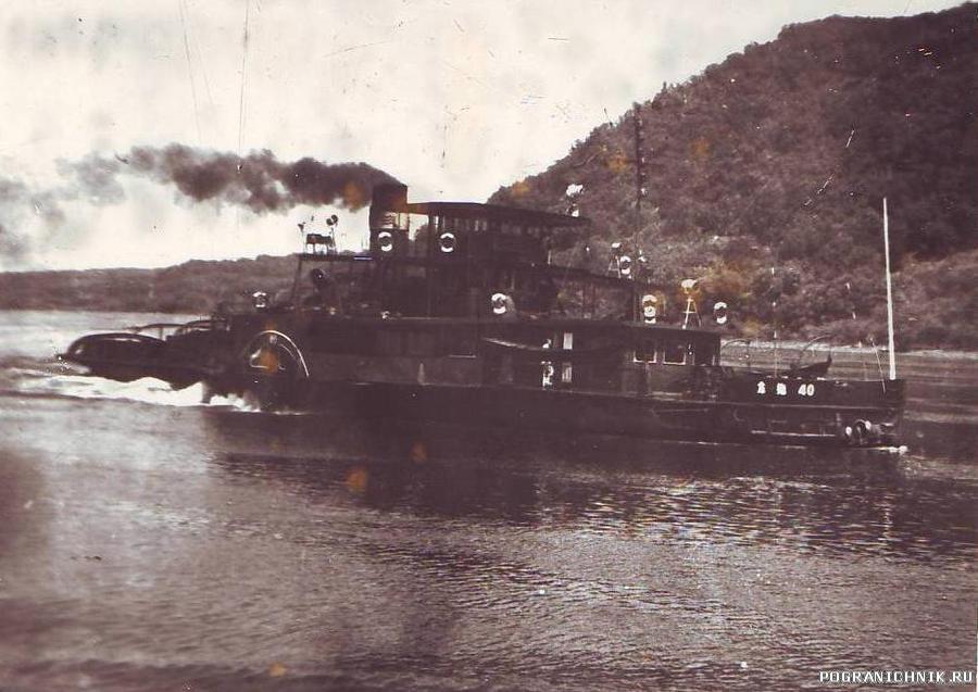Китайский колесный пароход (1985 г)