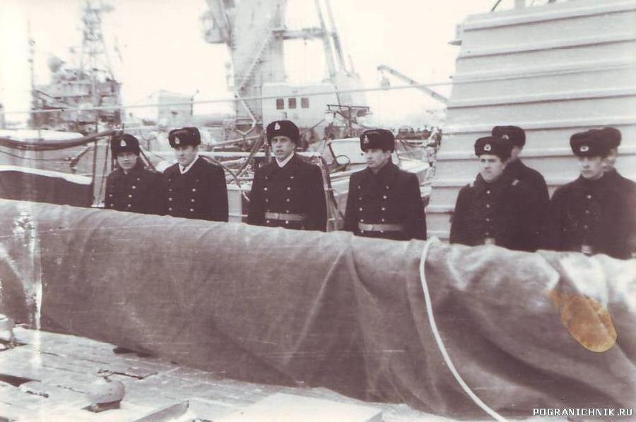 ПСКР имени 60-летия Октября (зима 1985-86 г).
