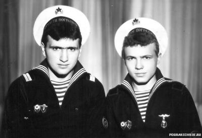 Ивлев Андрюха и Садовников Юра, ДМБ осень 1985 г.