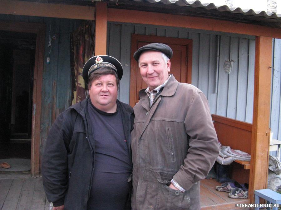 Выпускники 9-й роты радиотелеграфистов 77 г. Кузнецов Е, и Б