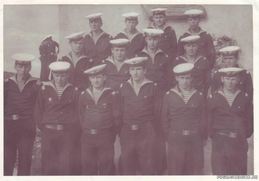 Старшинский состав петвого экипажа