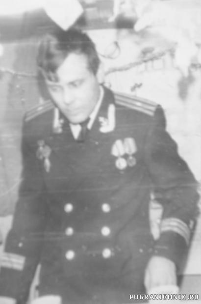 Прощание с кораблём и экипажем 685 1983год
