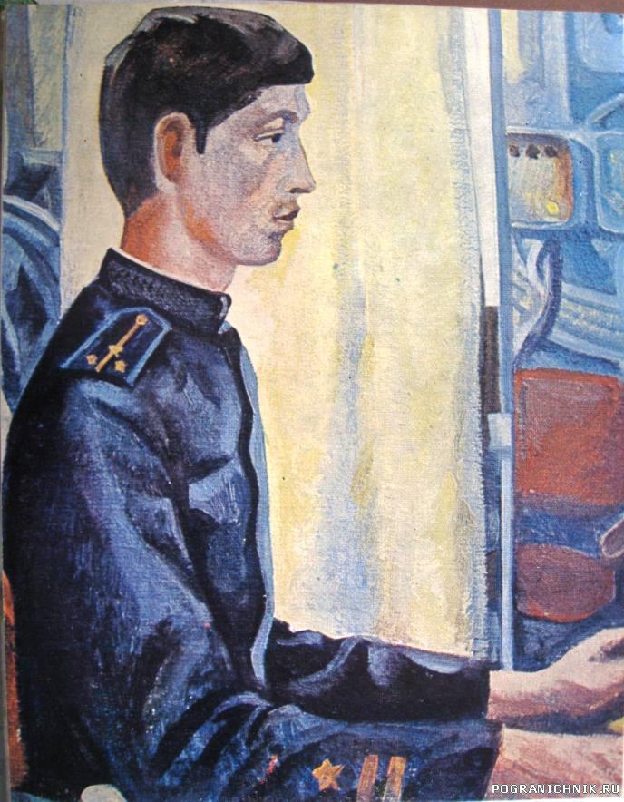 Портрет Андрея Козленкова
