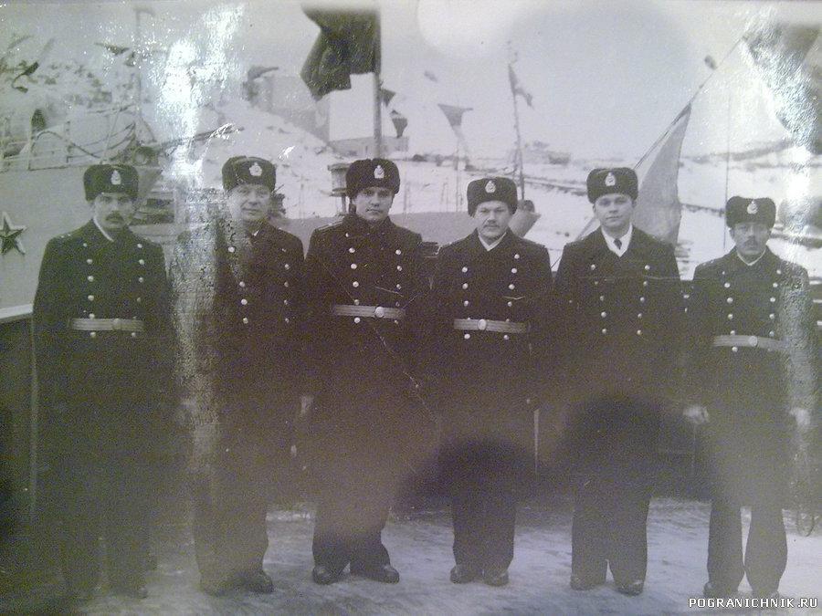 ПСКР Ладога день ВМФ 1984 г.