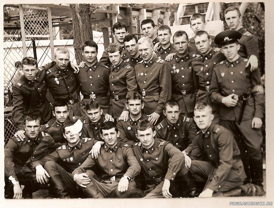 """ОКПП """"Новороссийск"""" 1-ый отдел 1986 год."""