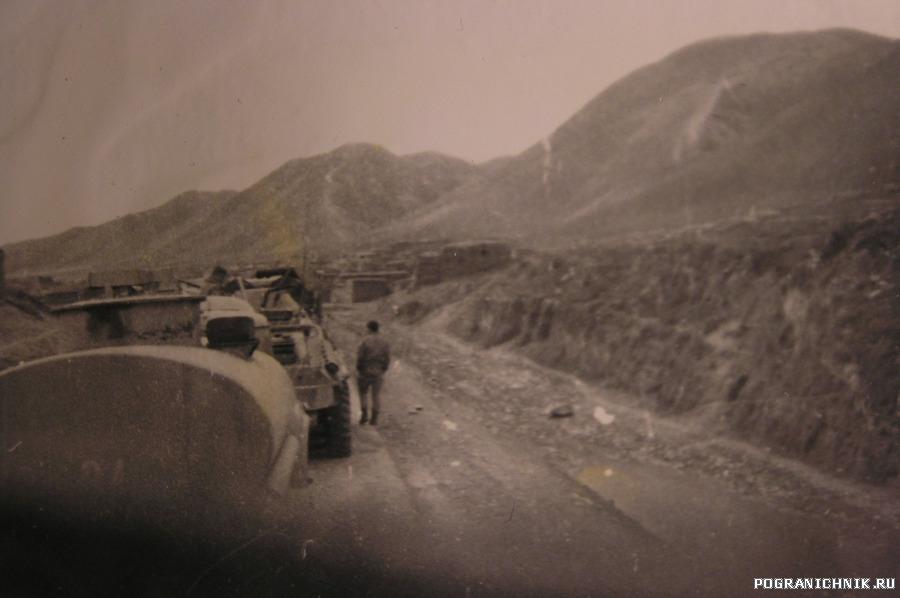 Колонна на Талукан 88 г.февраль