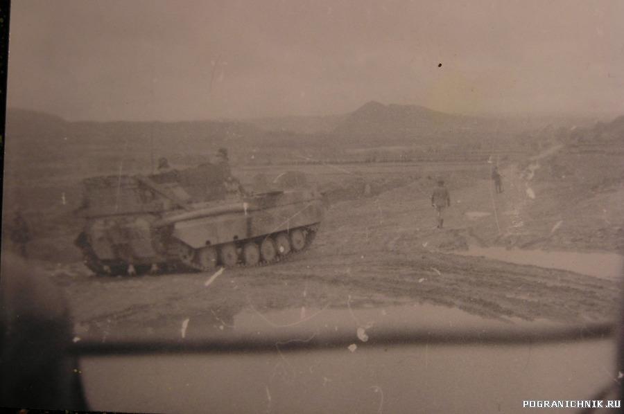 Армейский блок,колонна на Талукан ,февраль 88.