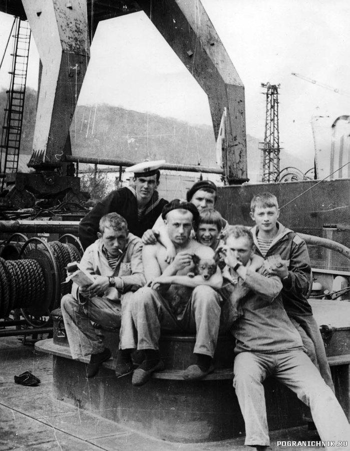 """На юте. ПСКР """"Амур"""" 1981 г."""