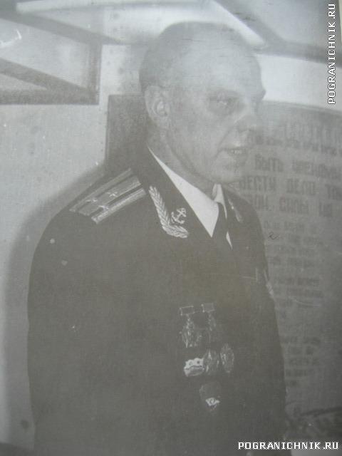 Командир 1ОБПСКР Рябов