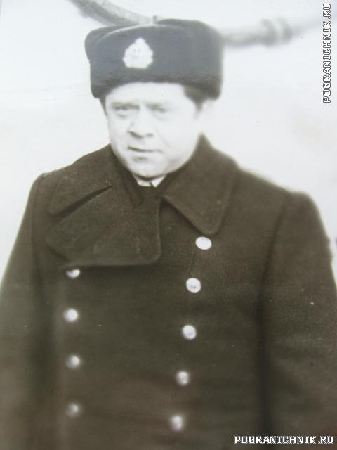 """командир ПСКР """"Аметист"""" Матюхин 1983г."""