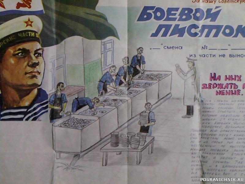 Иллюстрации к боевому листку