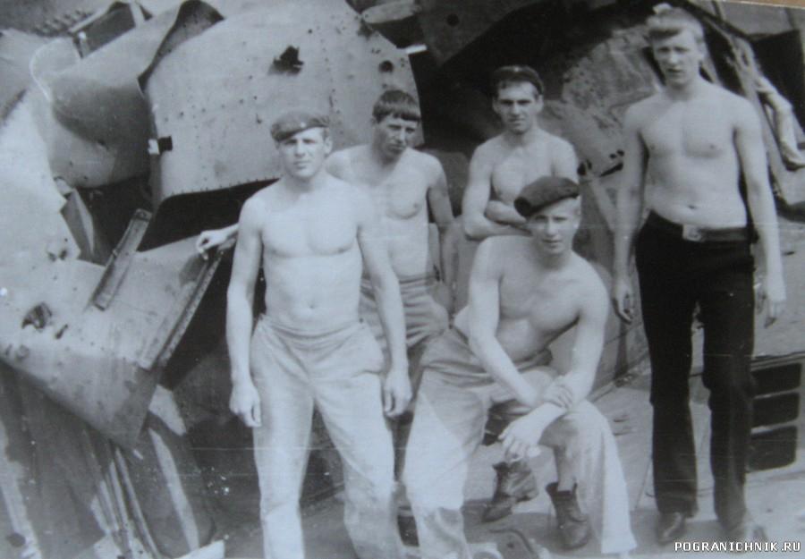 На борту Дзержинского.1982г.