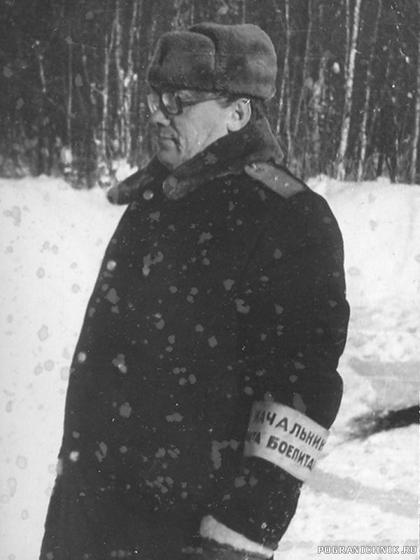1983-85г. УП. старшина УП, к сожалению не помню фамилию..