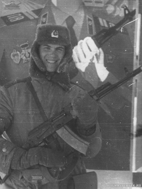 1983-85г. УП. ком. отд. мл. с-т Кочкин И.