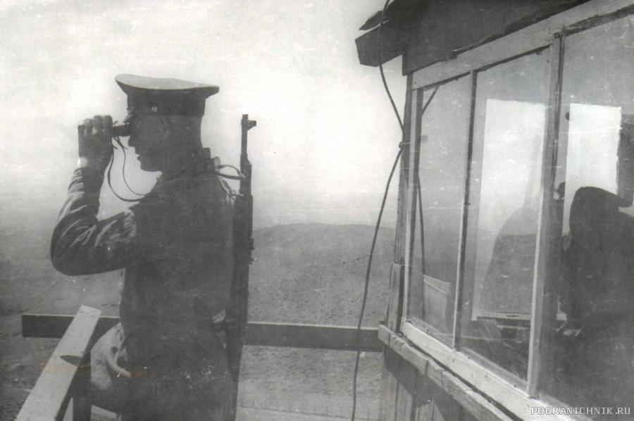 """4-я погранзастава """"Оман""""-76/77"""