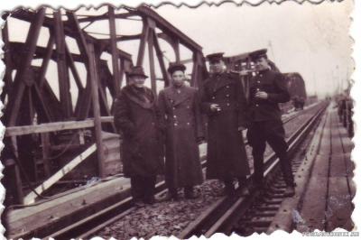 Германия 1947 г. Восстановление мостов