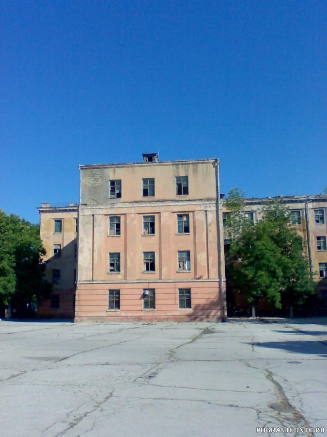 Крыло 3 школы РТВ (1976 г) 8 и 9 роты р/т