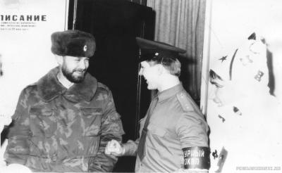 """новогоднее поздравление дежурного окпп""""Вильнюс""""90-"""