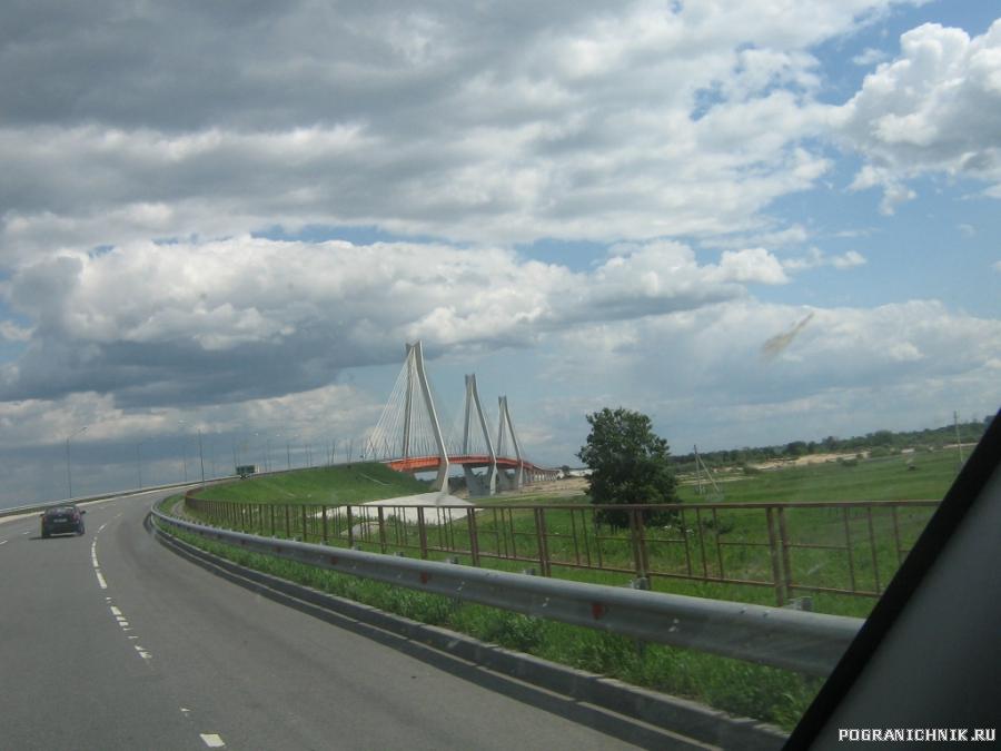 мост чере Оку в р-не г.Муром