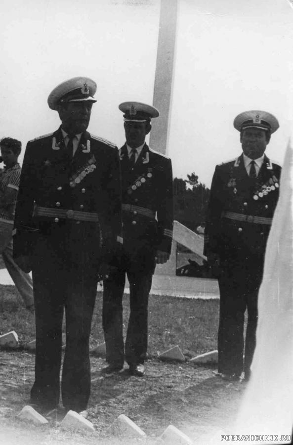 Комбриг 11 ОБСКК кап. 1 ранга Г.П. Босый
