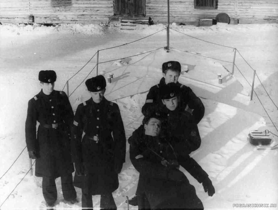На старом бронекатере, зима 1977-78 гг