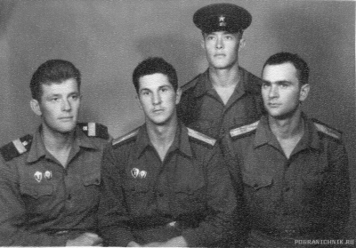 Командиры взводов автороты в\ч 2062. 1962-65