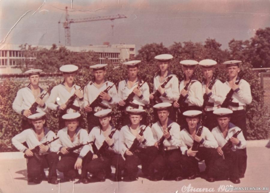 июнь 1989 г.6 школа 9 рота