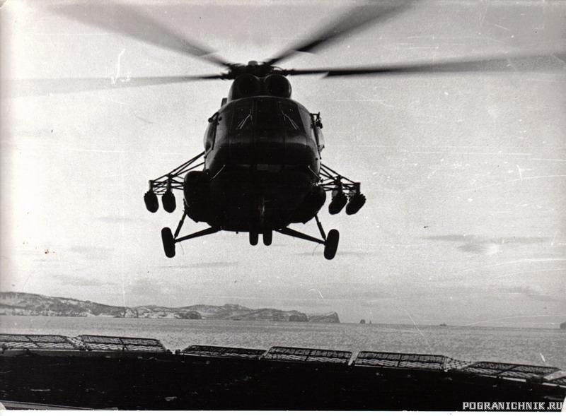 """ПСКР """"Дунай"""" Отработка полетов вертолета."""