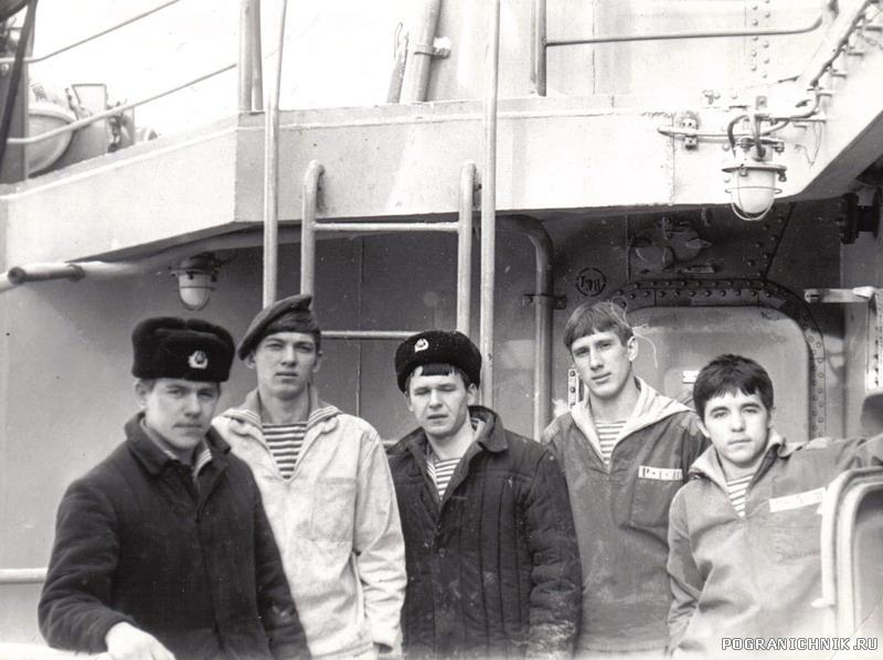 РТС на корабельных работах.